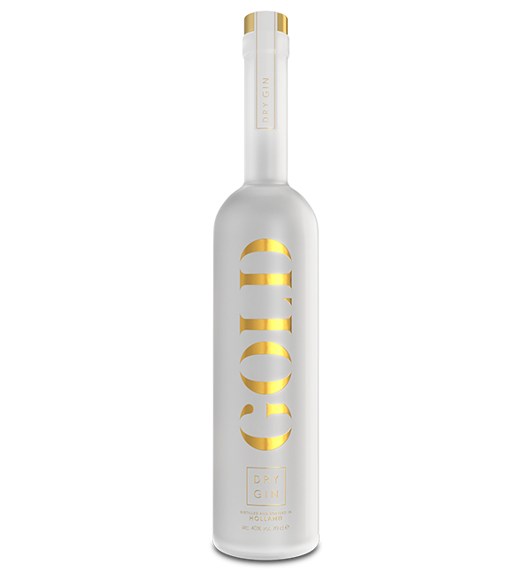 Gold Dry Single Bottle 70 cl | Gold Dry Gin
